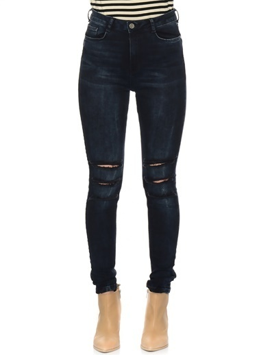 Missguided Jean Pantolon Mavi